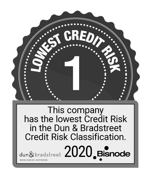 D&B Lowest credit risk 2020